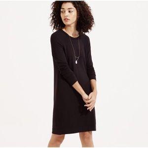 Lou & Grey Signature Soft Black Long Sleeve Dress